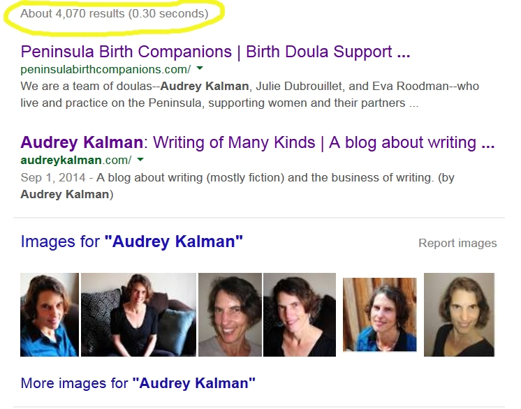 Audrey Kalman Search