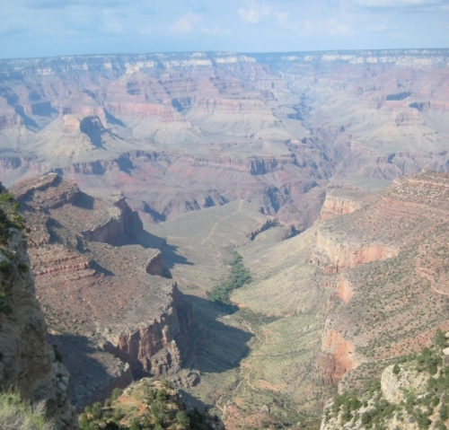 The chasm that can swallow facts (Grand Canyon 2008)