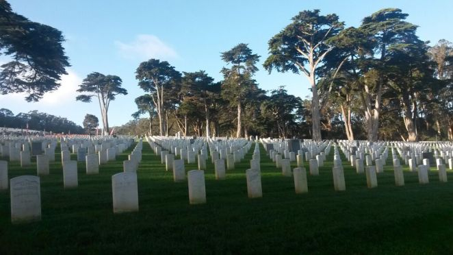 Golden Gate National Cemetery (c) 2015 Audrey Kalman