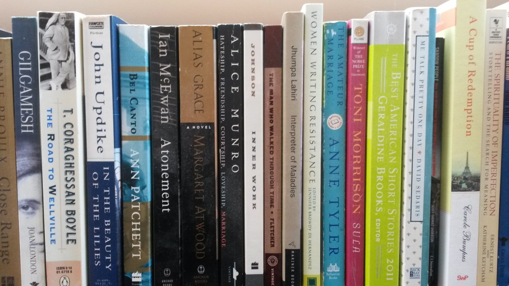 Do titles determine what makes it onto your shelf?