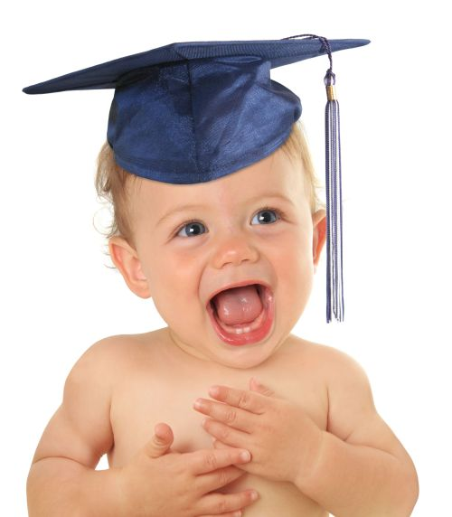 Graduating Baby