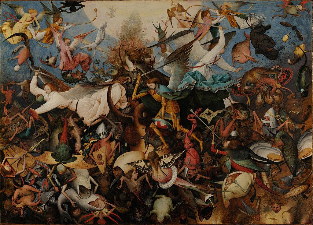 I like my novels like Bruegel paintings. [Pieter Brueghel the Elder (1526/1530–1569) [Public domain], via Wikimedia Commons]