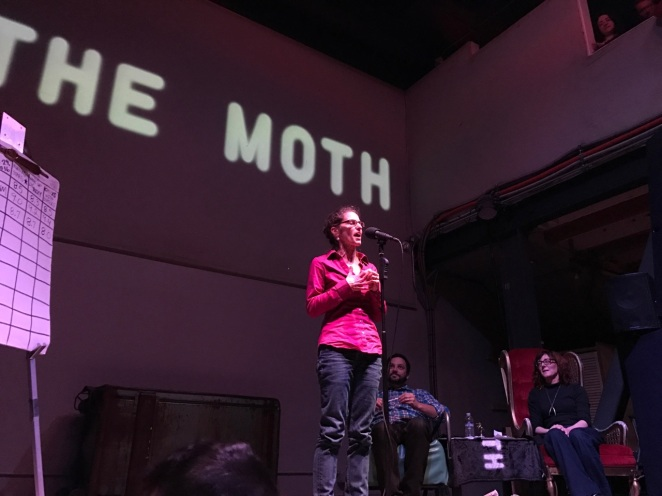 In November, I took my writing partner's challenge to share a story aloud at The Moth. Thrilling!