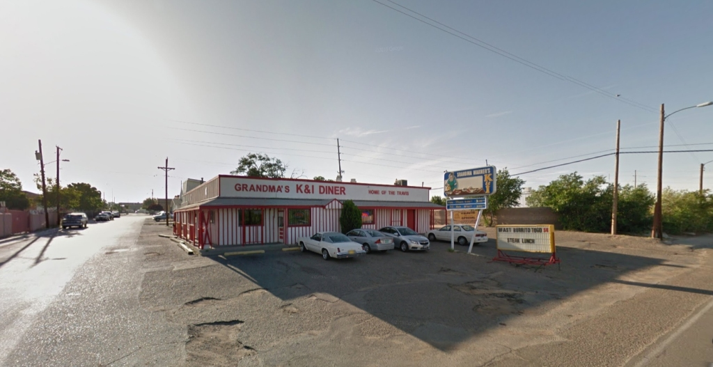 A diner in Albuquerque, NM. Courtesy of Google Maps.