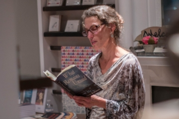 Reading at The Shop at Flywheel Press, September 2017
