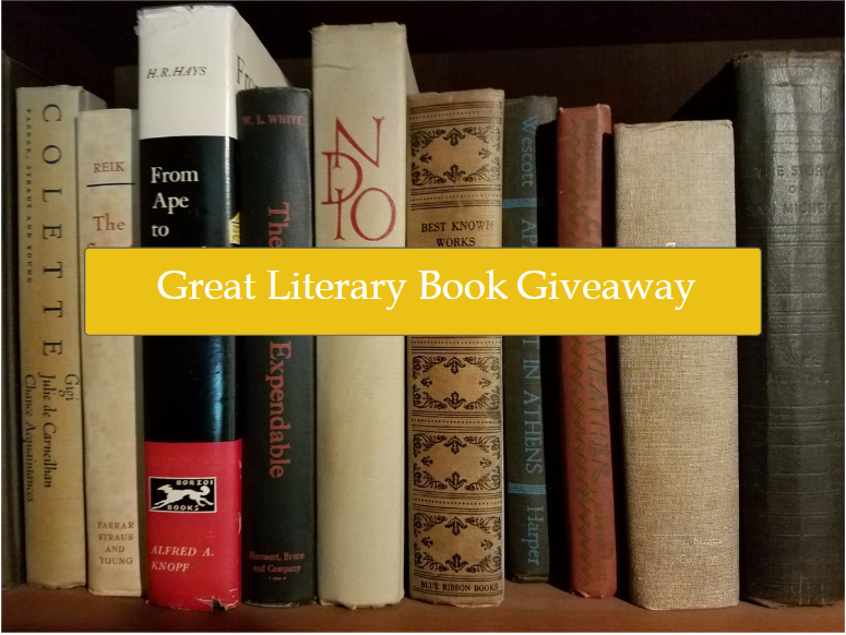 Literary fiction giveaway
