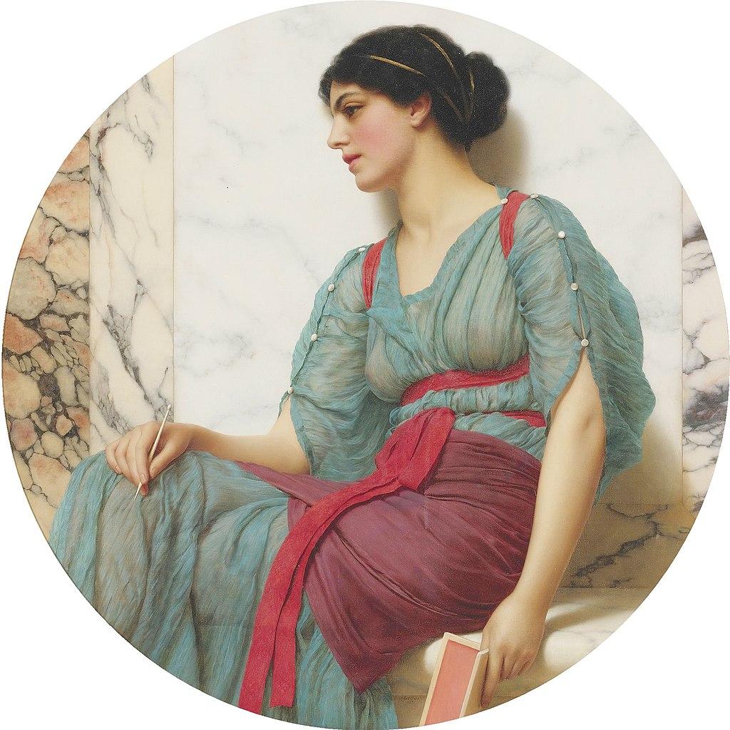 John William Godward - The Love Letter, 1907 [Public domain in the U.S.]